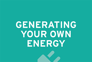 Generating Your Own Energy
