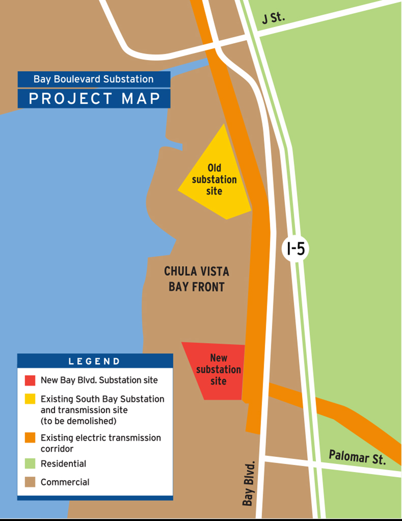 Major Projects South Bay Substation Relocation Project San Diego