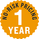 one year no risk pricing